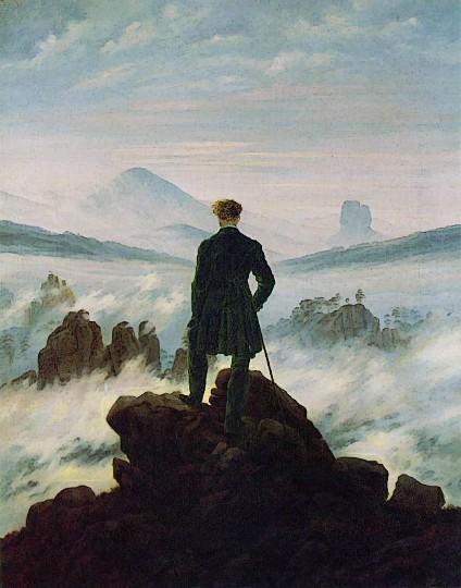 Friedrich Wanderer Above Sea of Fog.