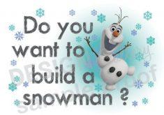 Download Do You Wanna Build A Snowman.
