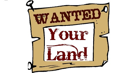 Land Wanted.