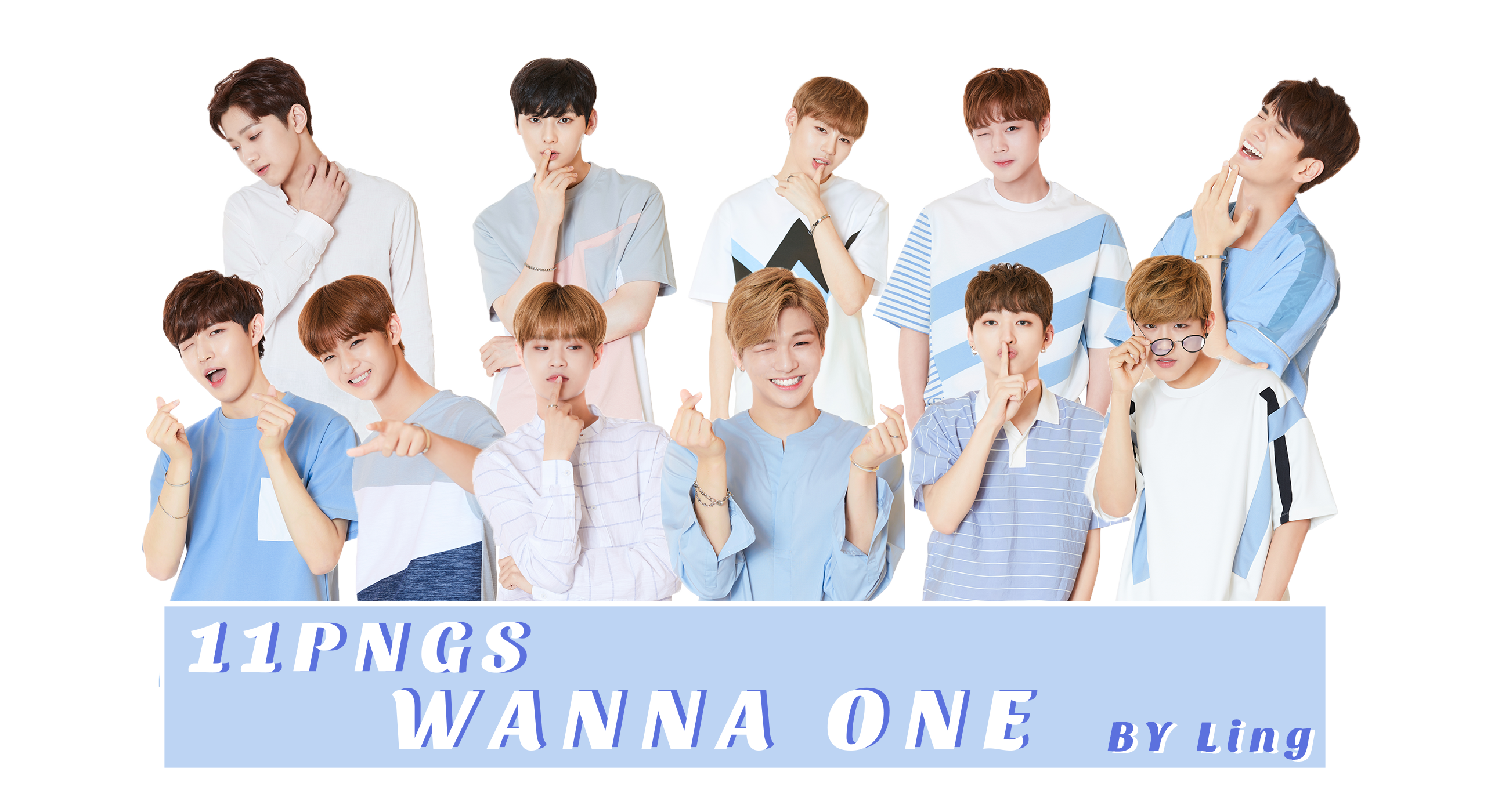 PNG PACK]WANNA ONE 11PNGS by l8686837 on DeviantArt.