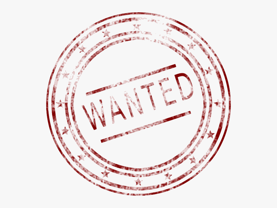 Wanted Stamp Clip Art.