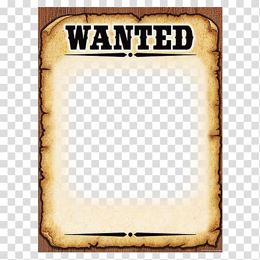 Wanted illustration, Wanted poster Template American frontier.