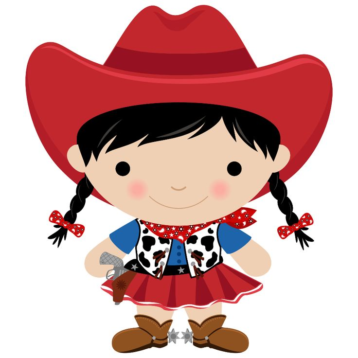 Free Girl Cowboy Cliparts, Download Free Clip Art, Free Clip.