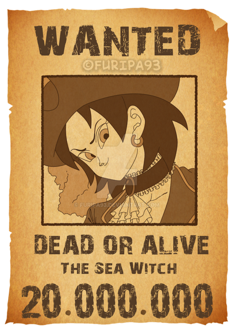 Wanted dead or alive by Furipa93 on DeviantArt.