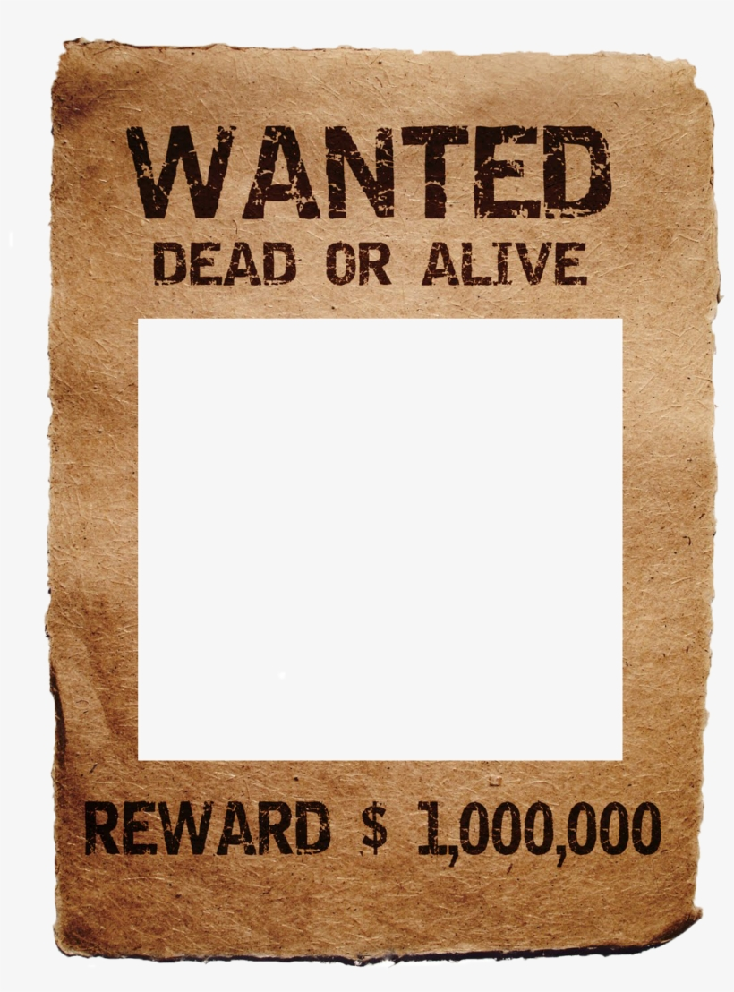 Wanted Poster Templates.