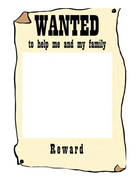 29 FREE Wanted Poster Templates (FBI and Old West).