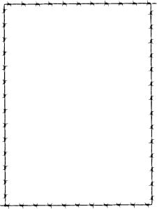 Free Clipart Borders Wanted Poster.