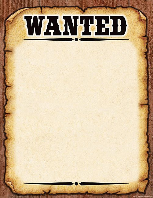 Free Printable Wanted Poster free printable wanted poster 29.