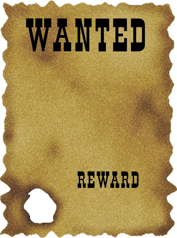 Free Wanted Poster Clipart, Download Free Clip Art, Free Clip Art on.