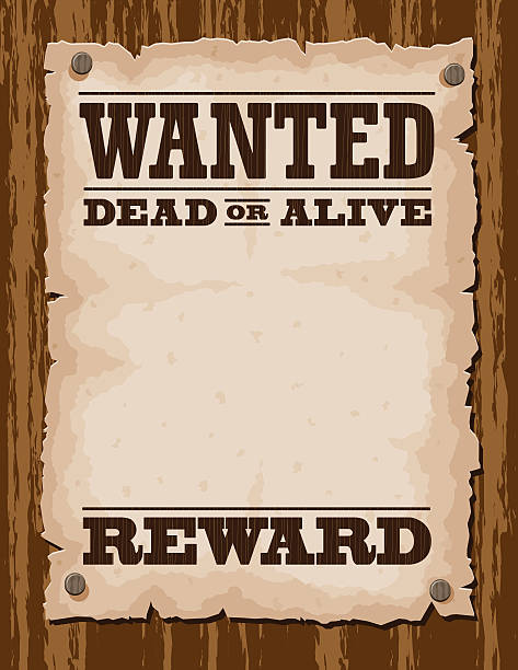 Best Wanted Poster Illustrations, Royalty.
