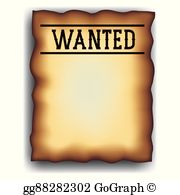 Wanted Poster Clip Art.