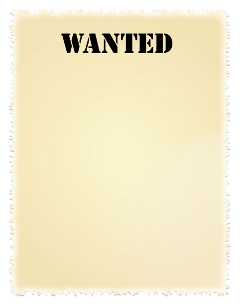 Wanted Poster Clip.