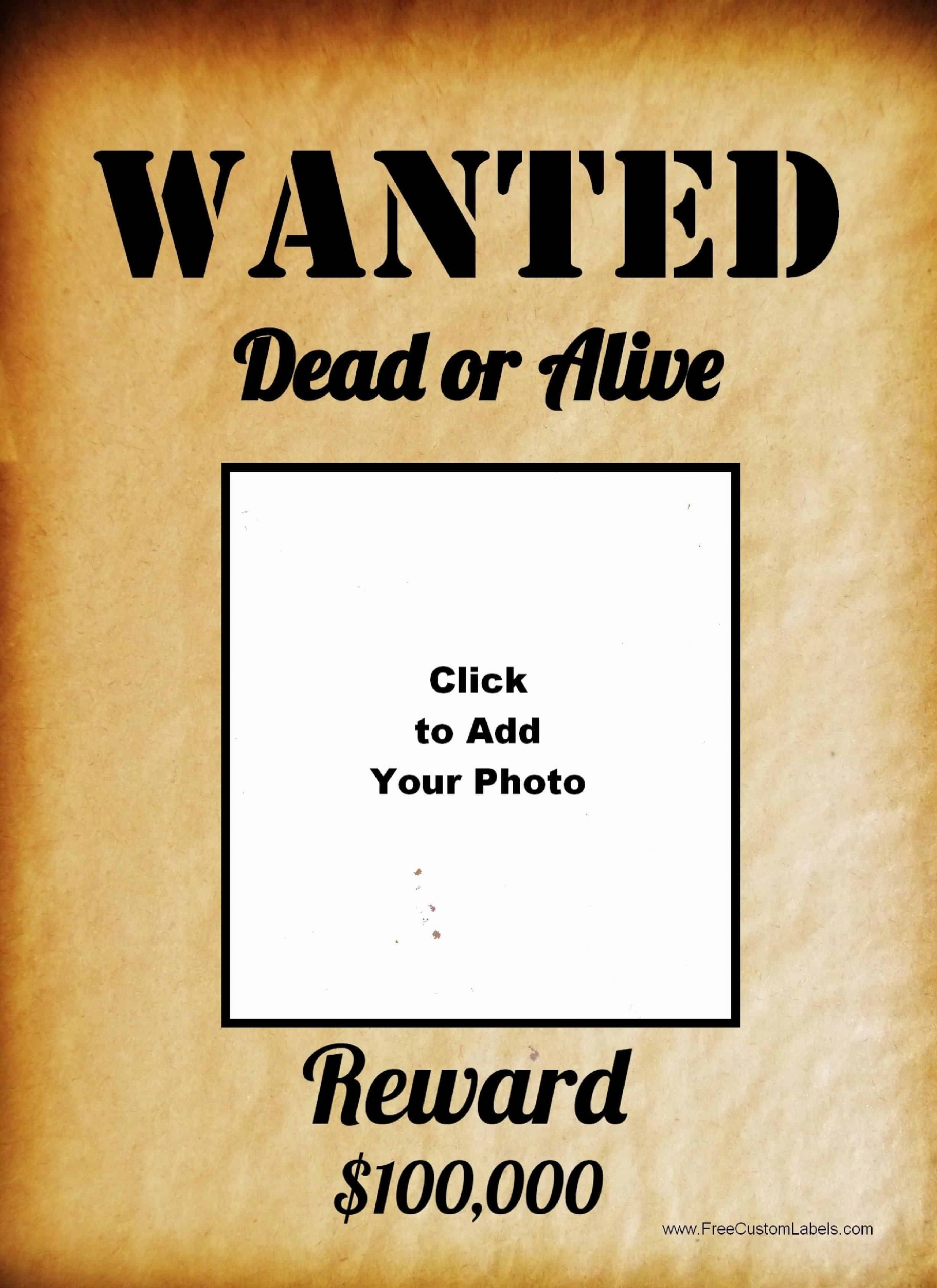 Phenomenal Wanted Poster Template Microsoft Word Ideas Most.
