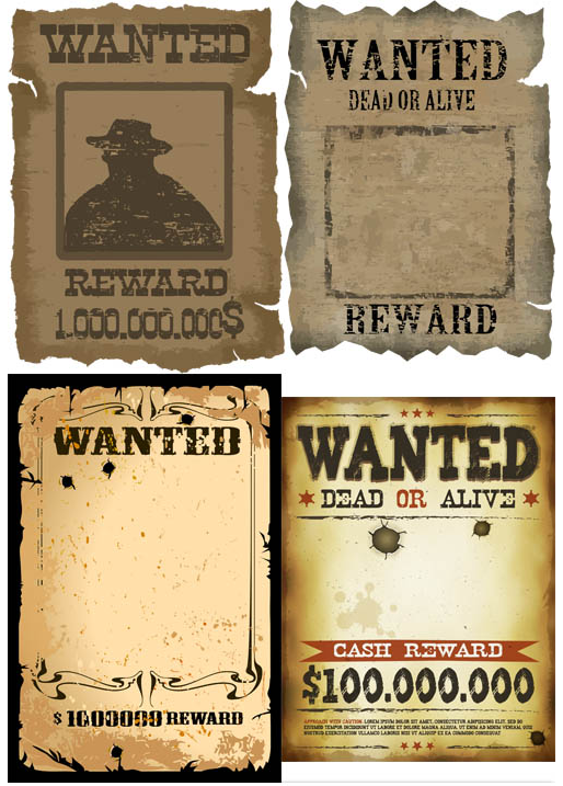 The best free Wanted vector images. Download from 93 free.