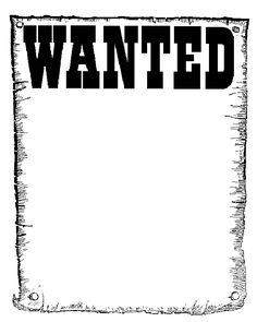 Wanted Poster Clip Art · Great.