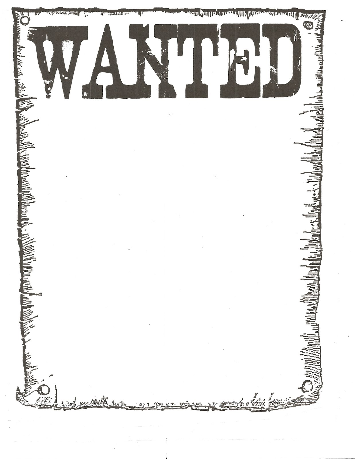 Wanted Poster Clipart 18.