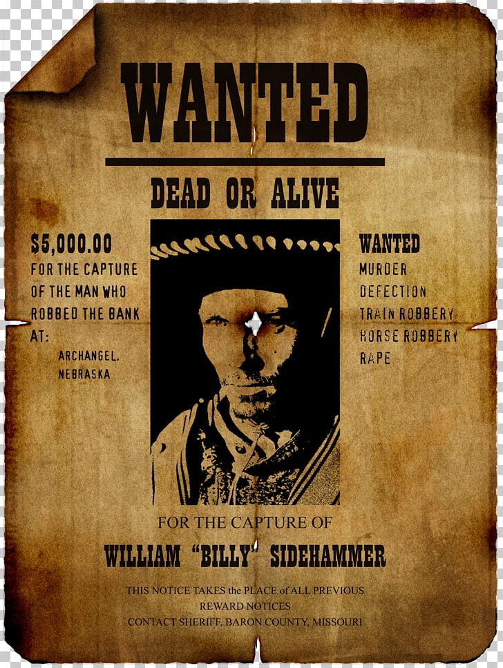 Wanted Poster Template PNG, Clipart, Advertising, Art.