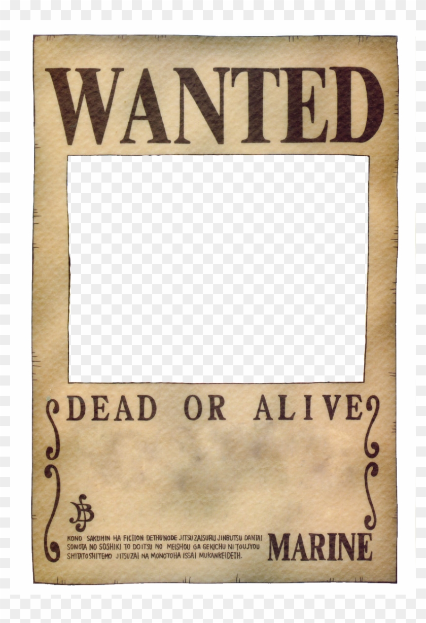 Wanted Poster Png.