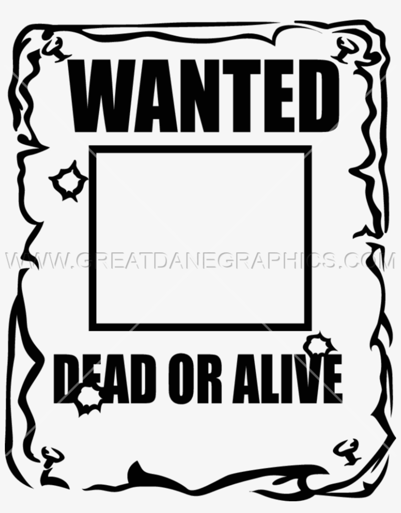Wanted Poster Png PNG Images.