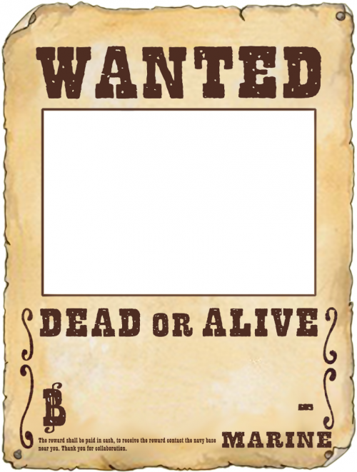Make Your Own Wanted Poster.