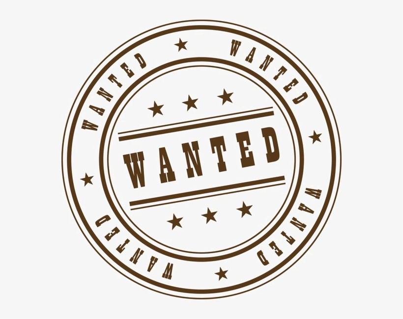 Wanted Stamp Png Clipart.