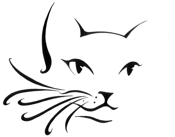 1000+ ideas about Cat Silhouette Tattoos on Pinterest.