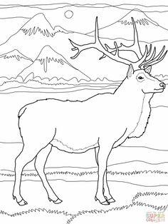 "Chalboard Deer clipart: ""ANTLERS CLIP Art"" Antlers clipart deer."