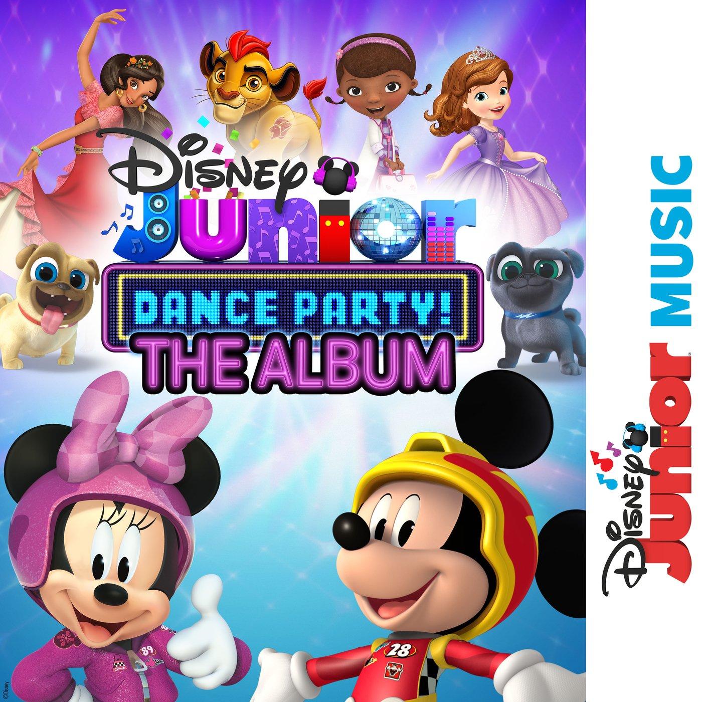 Disney Junior Music Dance Party! The Album by Various.