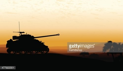 Tank at Twilight.