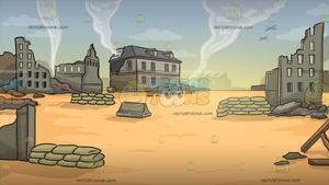 War Zone Background.