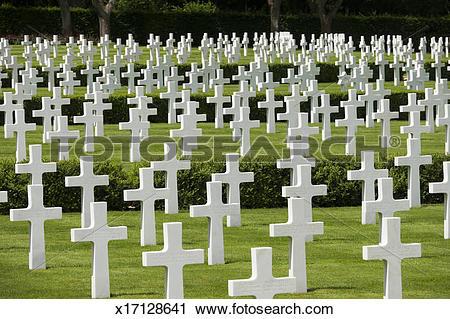 Stock Photography of US War Cemetery, Madingley, Cambridge,UK.