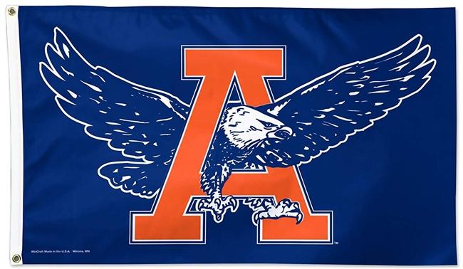 Auburn Tigers Flag 3x5 Vintage War Eagle Logo.