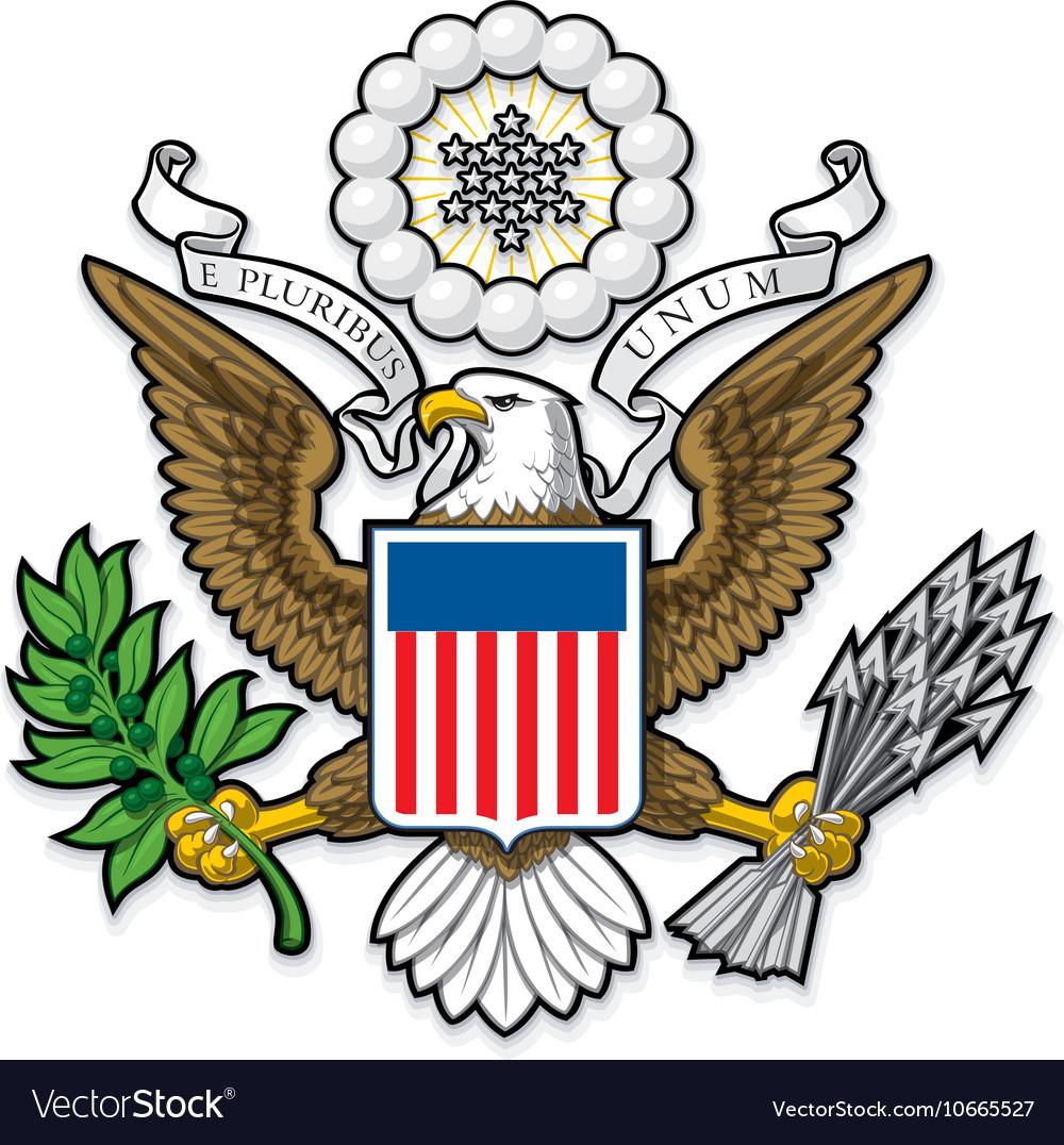 US Great Seal Bald Eagle.