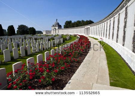 War Graves Stock Photos, Royalty.