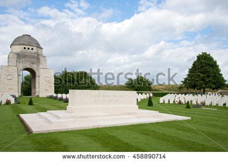 Battlefield Grave Stock Photos, Royalty.
