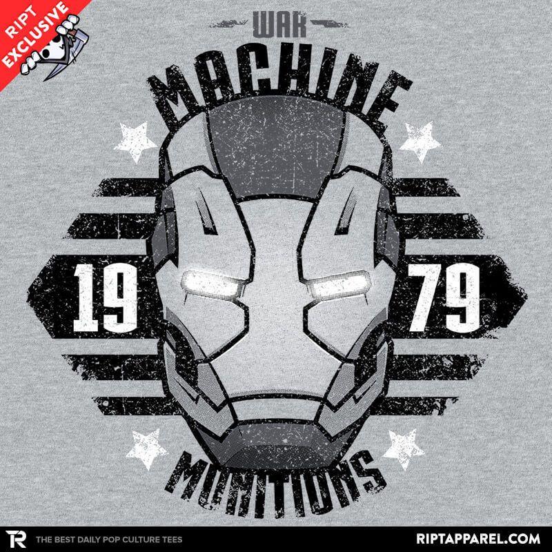 War Machines Munitions T.