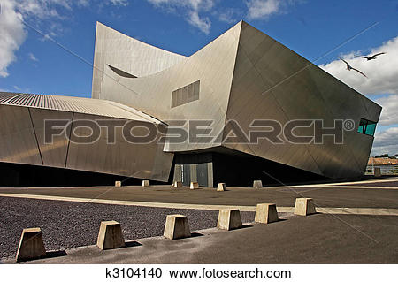 Stock Photography of Salford War Museum k3104140.