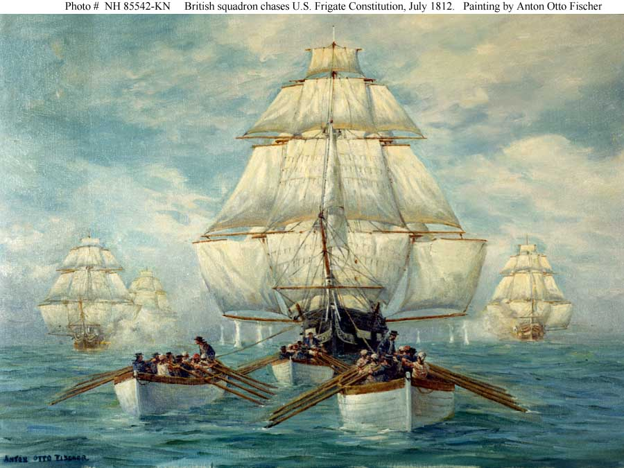 War of 1812 at Sea.