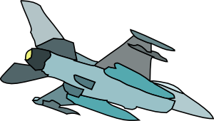 Military Fighter Plane Clip Art at Clker.com.