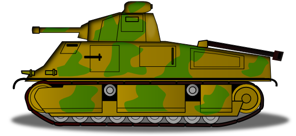 Military Tank Clip Art at Clker.com.