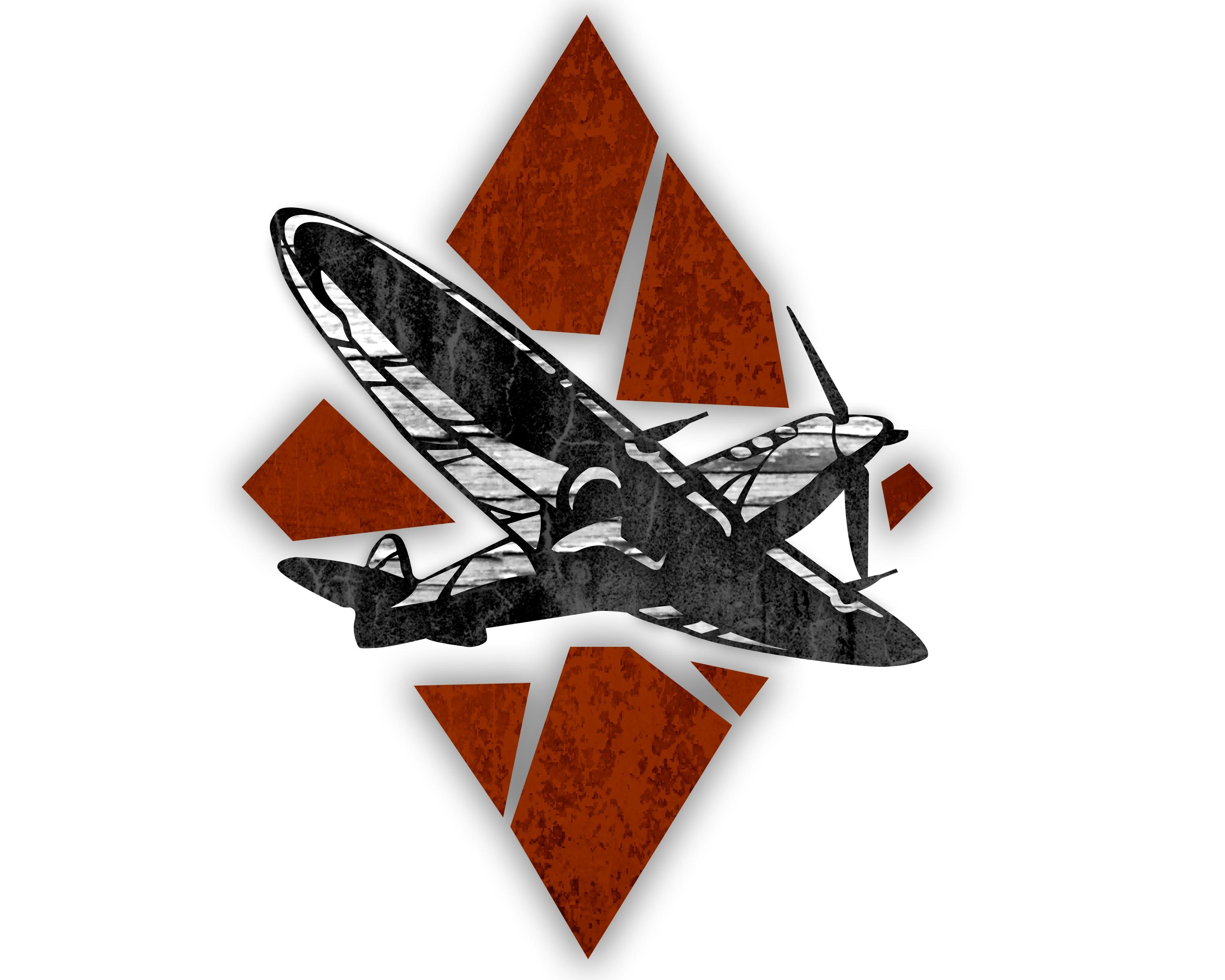 I decided to recreate the war thunder logo. Hope y\'all like.