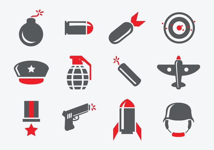 World War 2 Icons.