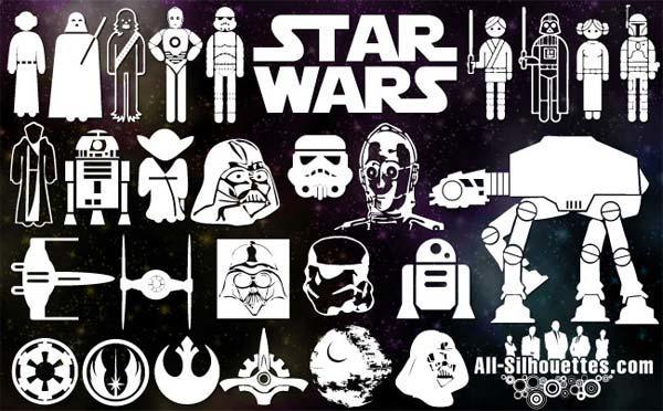 Vector Star Wars Symbols Free.