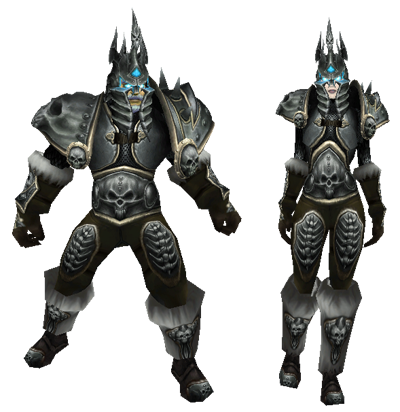 The Lich King armor for characters (for 3.x and 4.x!).