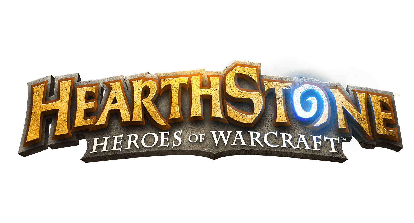 HearthStone Logo Heroes Of Warcraft transparent PNG.