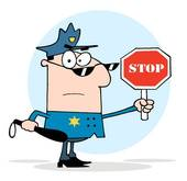 Traffic Police Clip Art.