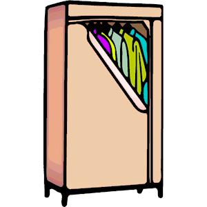 Wardrobe Clipart.