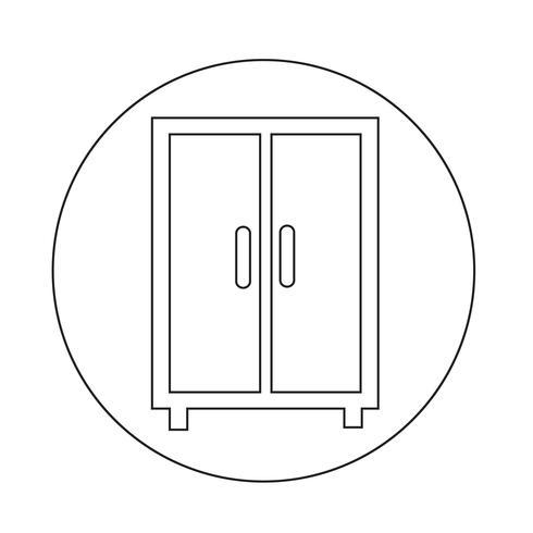 wardrobe icon.