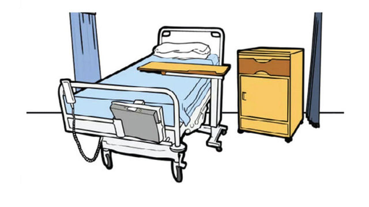 Hospital Ward Clipart.