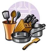 kitchen ware clipart. #9655558.